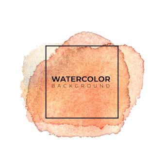 Коричневый фон акварельные текстуры. цвет брызг на бумаге.