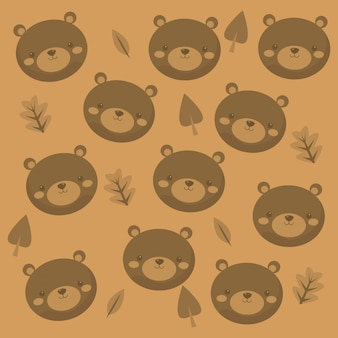 Brown bear icon image