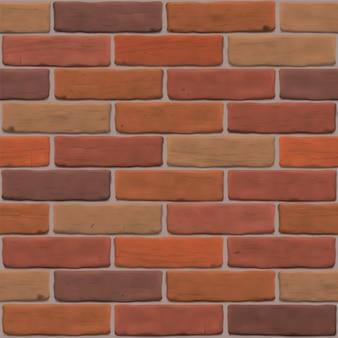 외관 용 갈색 벽돌 벽