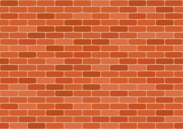 Brown brick wall seamless pattern,
