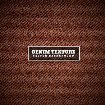 Brown denim texture
