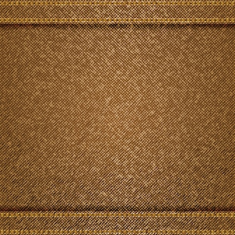 Brown jeans background