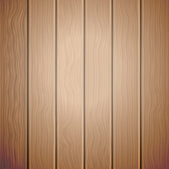 Brown old wooden vector background