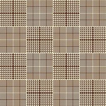 ブラウンチェック柄のパターン