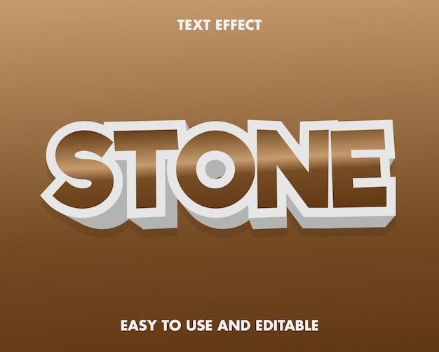 ブラウンストーンのテキストエフェクトは、使いやすく編集可能です。