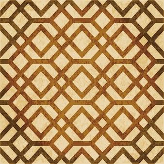 茶色の水彩テクスチャ、シームレスパターン、クロススクエアチェックフレーム