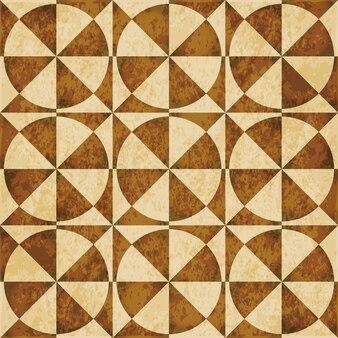 Коричневая акварель текстуры, бесшовные модели, геометрия круглого креста