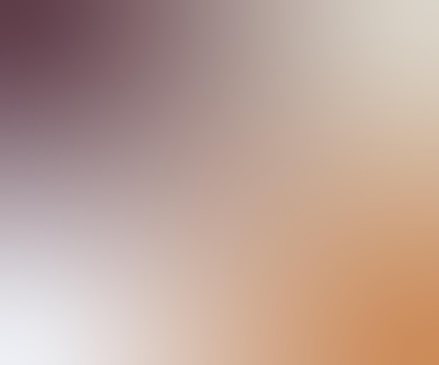 Brown and white abstract background gradient texture.
