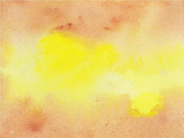 Коричнево-желтый акварельный фон для любых целей. абстрактный акварельный фон.