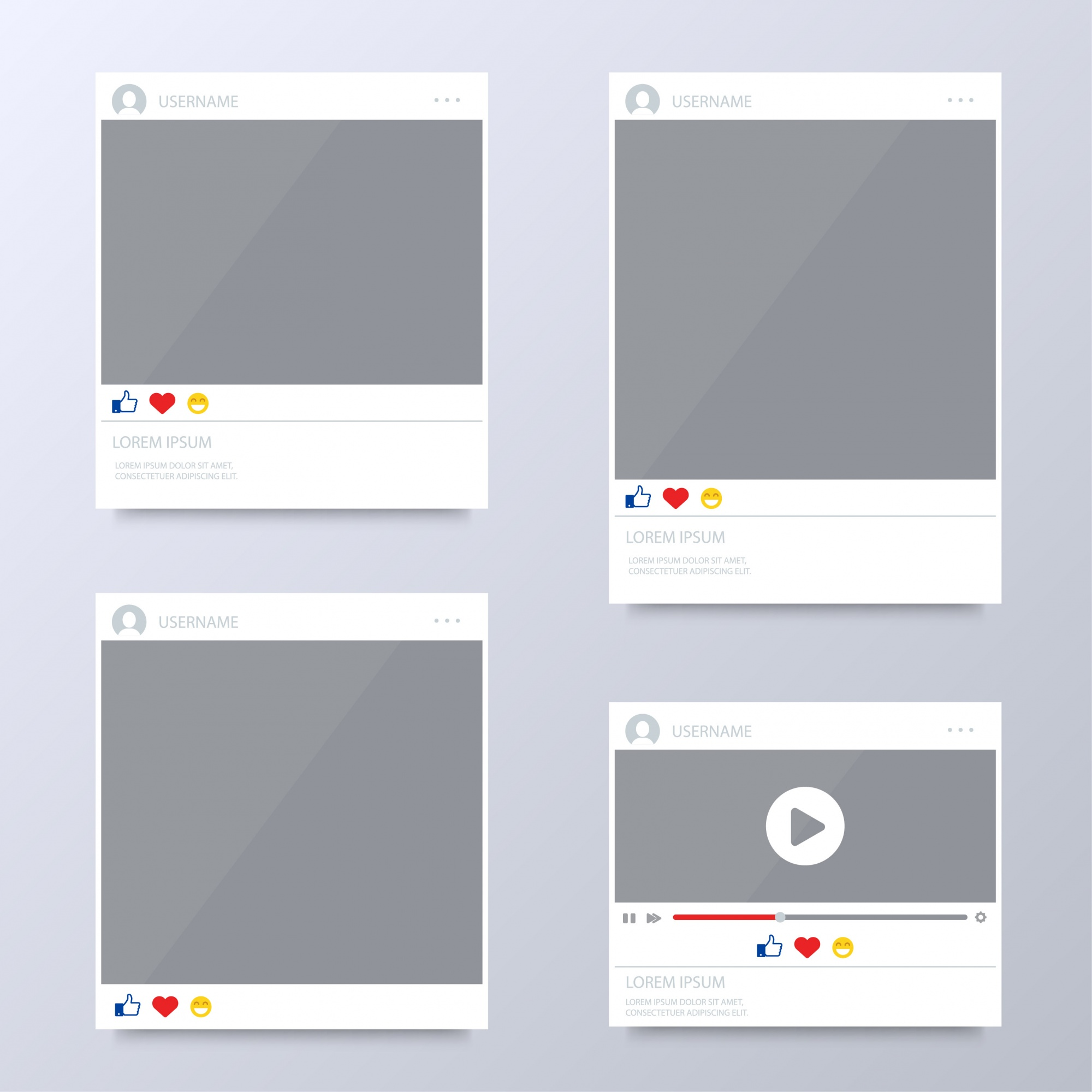 Browser window templates