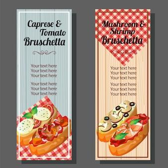 Bruschetta banner