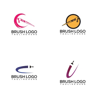 Brush logo collection