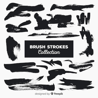Brush stroke collection