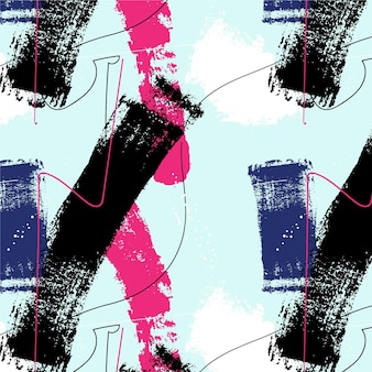브러시 스트로크 페인트 패턴