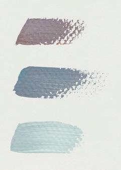 Brush stroke samples