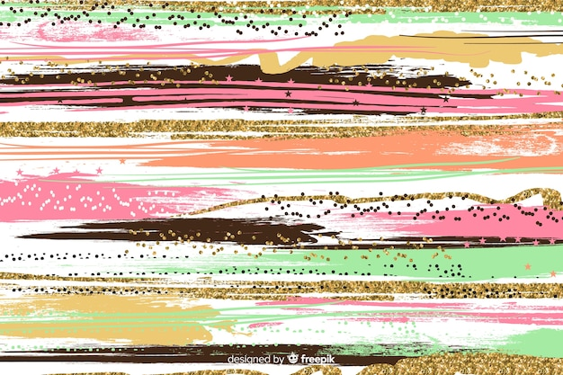 Brush strokes abstract background