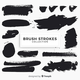 Brush strokes pack