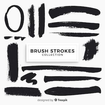 Brush strokes pack