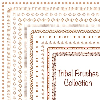 Brush tribal set