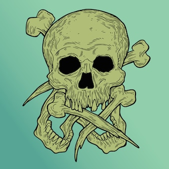Buba skull