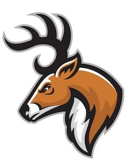 Buck head mascot
