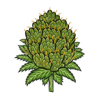 Bud vegetal