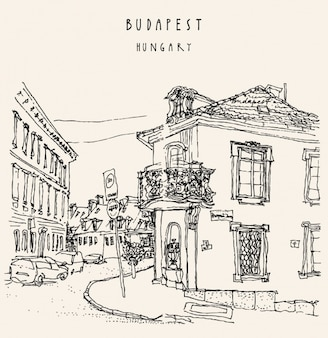 Budapest background design