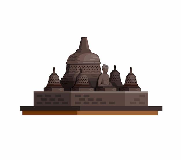 Иллюстрация буддийского храма
