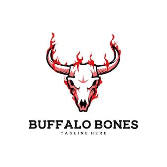 버팔로 뼈 갈비뼈 소 쇠고기 두개골