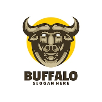 Buffalo logo design perfect for a nature related business