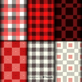 Buffalo pattern collection plaid