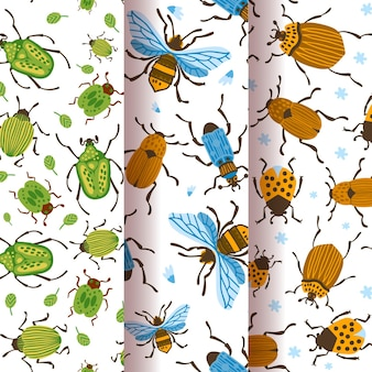 Bug pattern collection theme