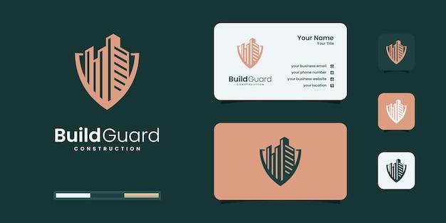 Вдохновение для создания логотипа build guard