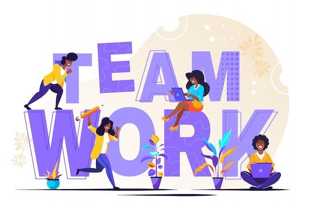 Build word teamwork