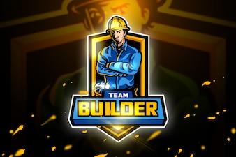 Builder Mascot logo