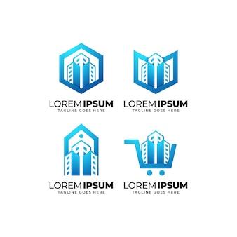 건물 및 건설 로고 디자인 모음