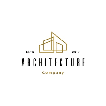Building architecture logo template