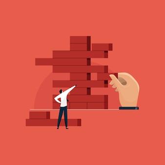 Строительные блоки, бизнес-интеллектуальная игра
