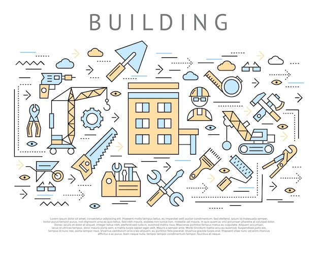 Building and construction concept