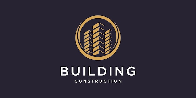 Building construction logo design inspiration