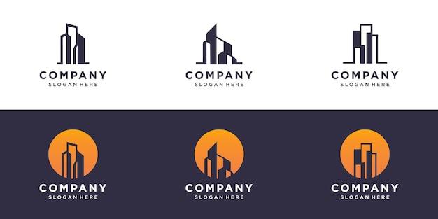Building construction logo design inspiration