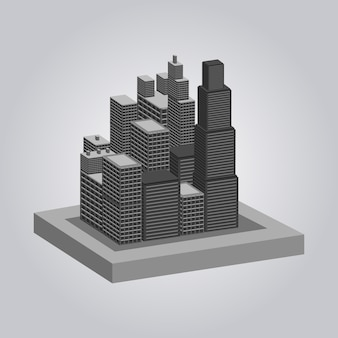 Building geometric view