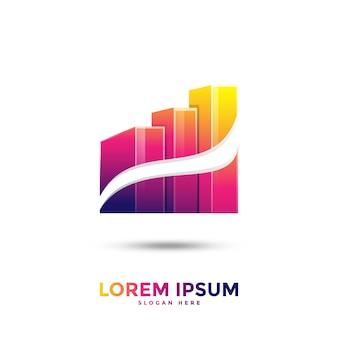 Создание логотипа градиента