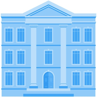 Building icon vector house city business office or government