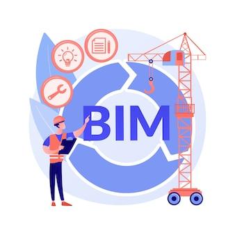 ビルディングインフォメーションモデリングの抽象的な概念