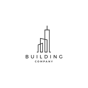 Building logo vector illustration icon download