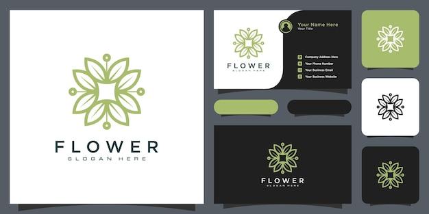 라인 아트 스타일로 로고를 구축합니다. 로고 디자인 영감과 명함 디자인을 위한 도시 건물 개요