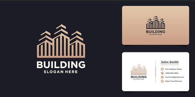 Создание роскошного дизайна логотипа и визитки