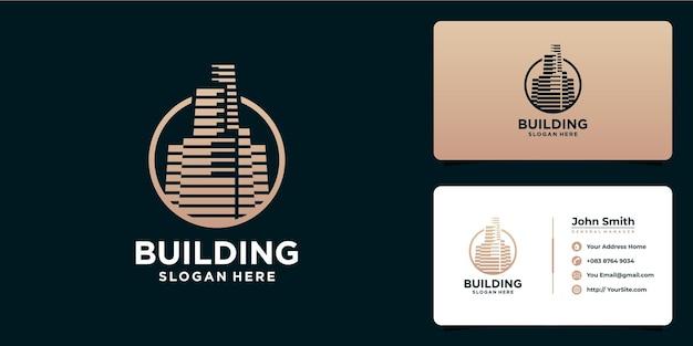 Создание роскошного дизайна логотипа и визитной карточки