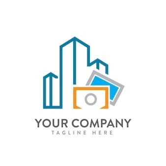 建物写真ロゴベクトル